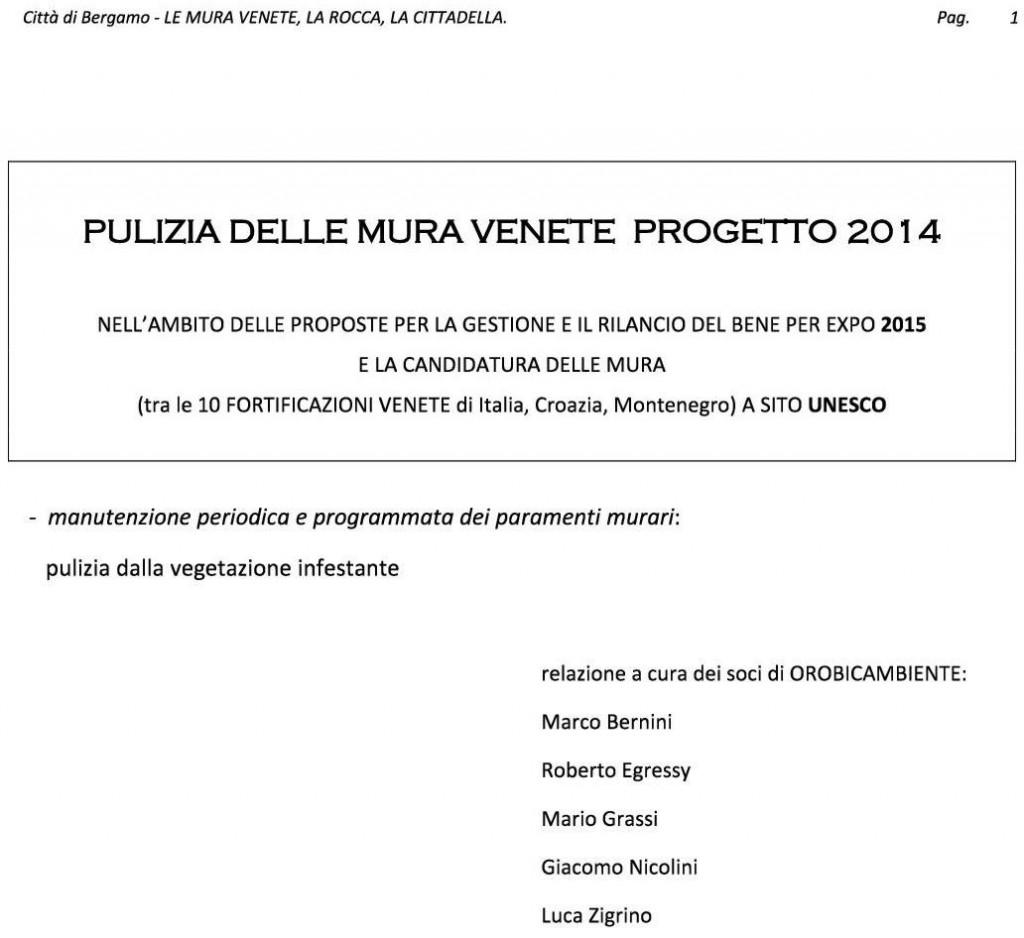 MURA Venete 2014 relazione1