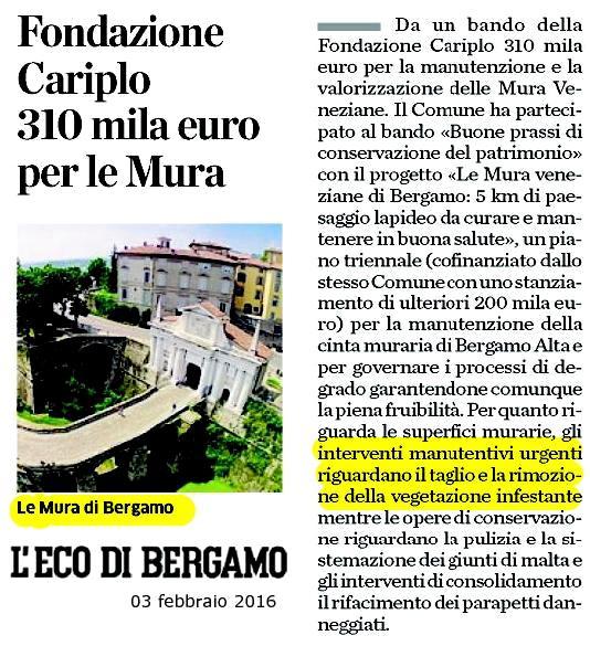 18 M -160202 bando Cariplo -eco