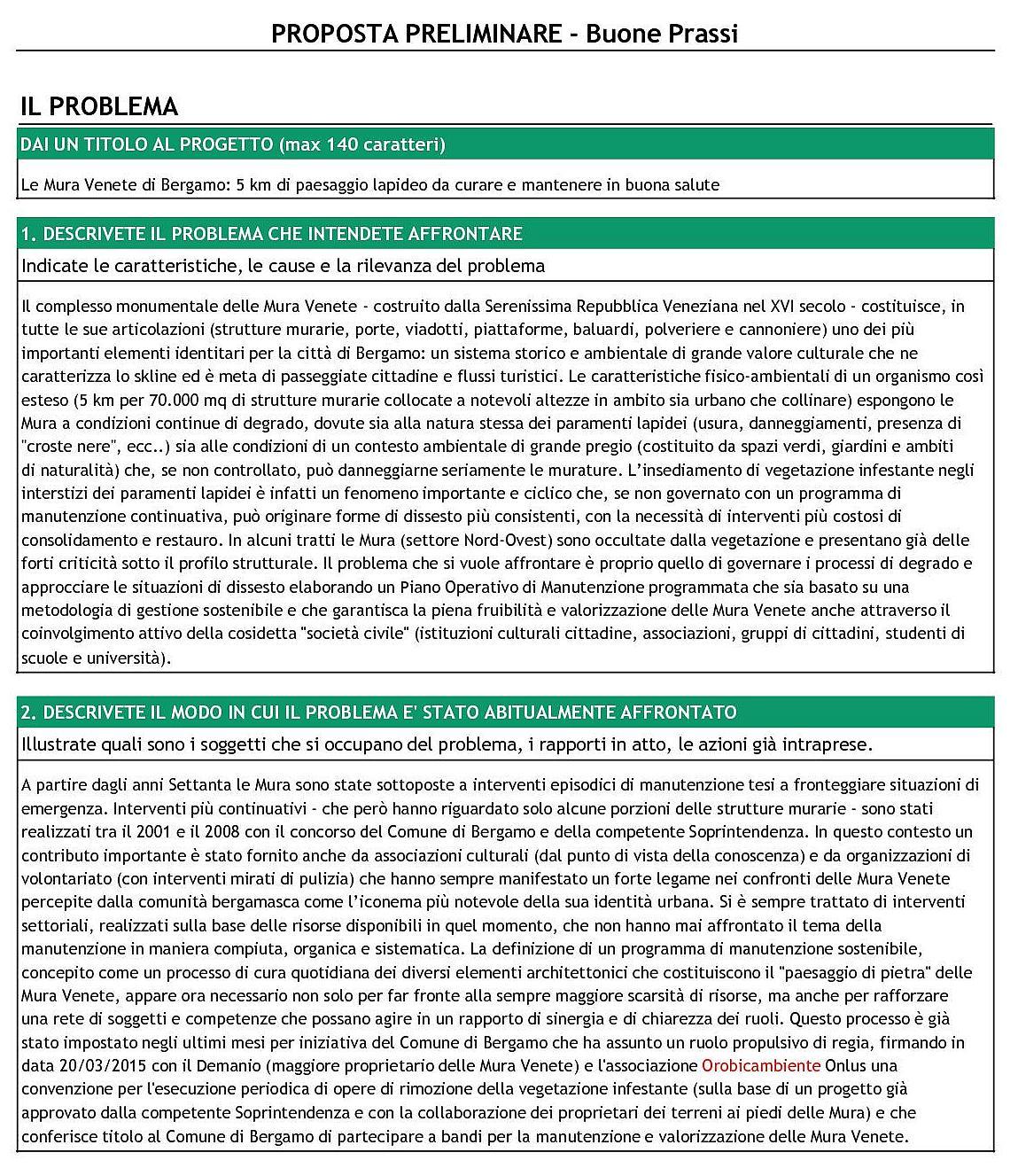Bando Fondazione Cariplo