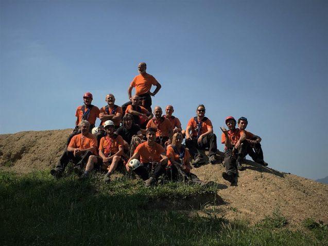 foto gruppo volontari